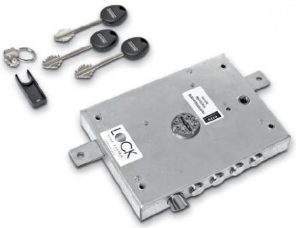 cerradura de gorjas lock trap system